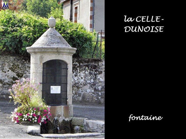 LA CELLE-DUNOISE  Creuse