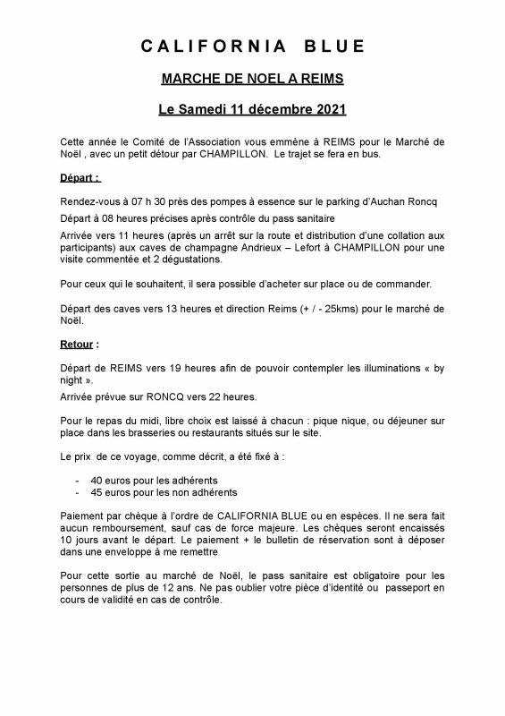 Marché de Noël à Reims - 11 décembre 2021