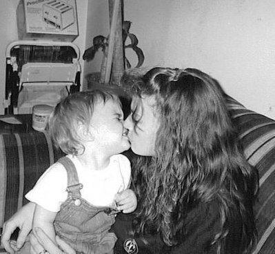 Justin &' Sa maman ♥