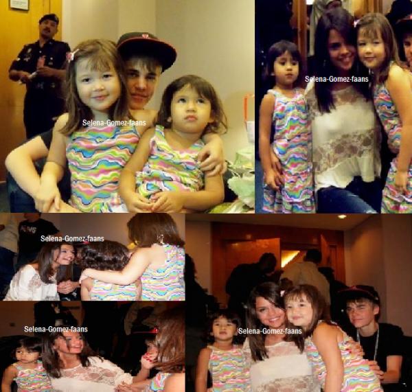.  24/04 Selena & Justin : 5 photos avec des fans + 3 photos personnelles   .