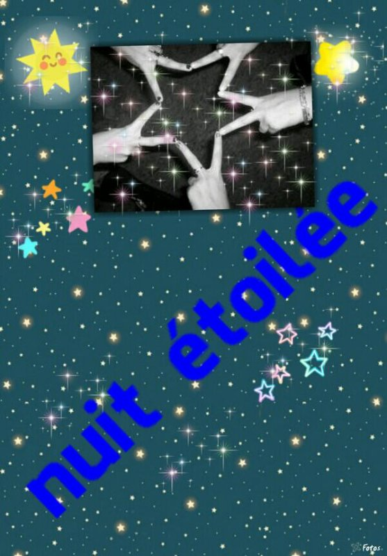 NUIT ÉTOILÉE ♥♥♥♥♥♥♥