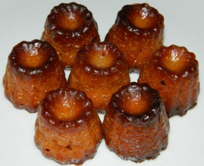 Mini canelé bordelais