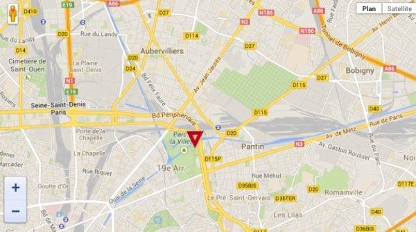 La salle : Zénith Paris-La Villette