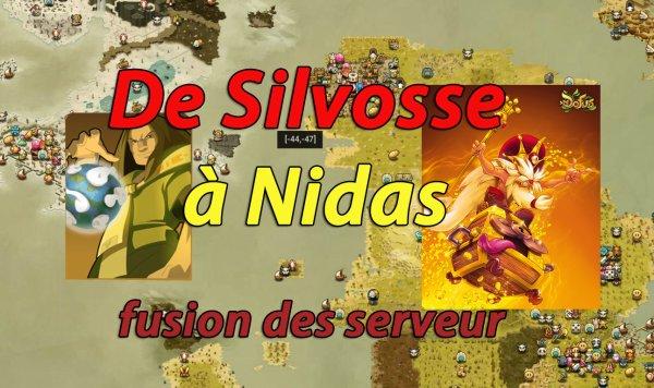 De Silvosse à Nidas ...