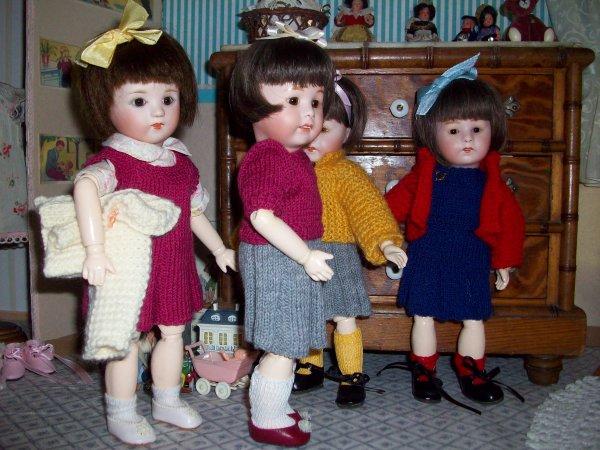 Quatre petites filles...