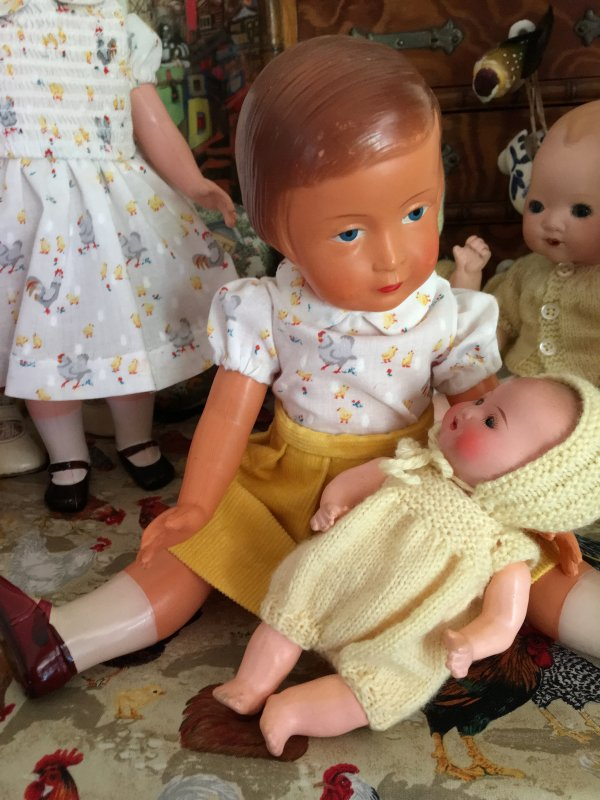 Françoise et ses petits poussins