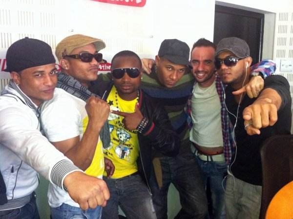Papa London et Manyone sur Radio Latina