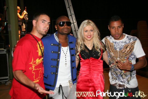 Papa London et Manyone au Latin All Stars 2011