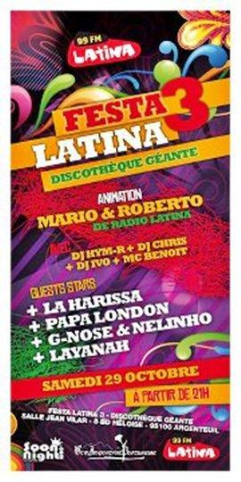 Papa London en concert à la Festa Latina 3