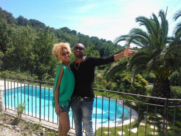En mode répétition avec Roxy Cuba au soleil...
