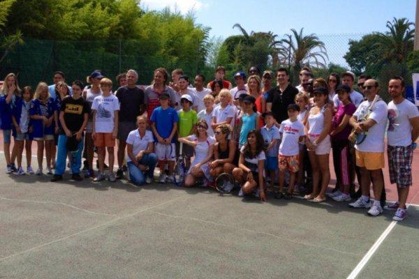 Enfant Star et Match Juan les Pins 7 juillet 2012