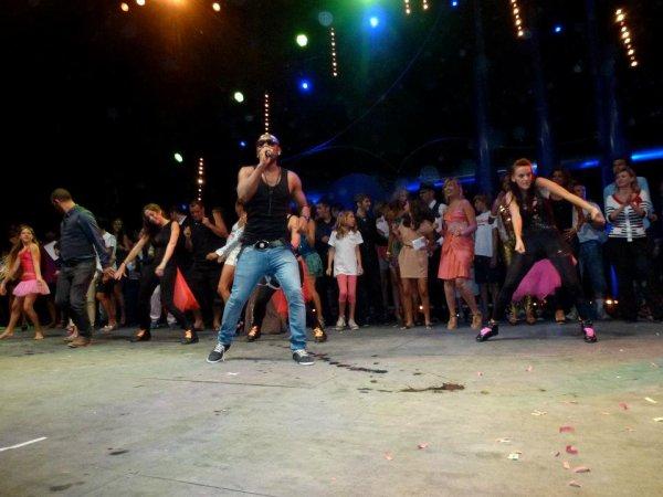 Concert à Enfant Star et Match Juan Les Pins 2012