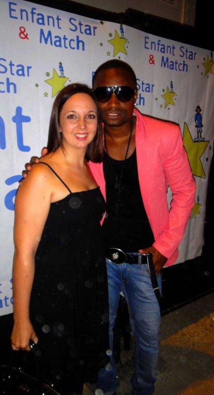 Concert à Enfant Star et Match avec Zoupette Juan Les Pins 2012