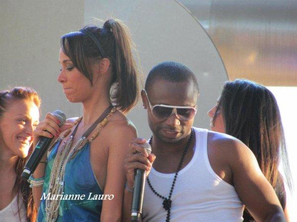 En concert avec Karine Lima