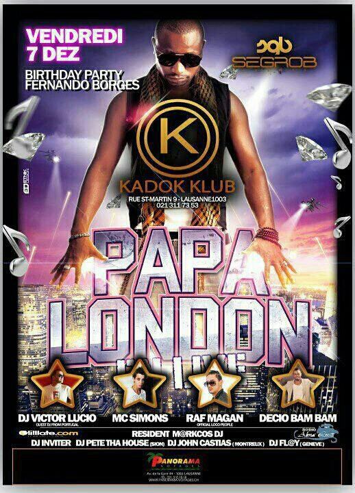 Rendez vous ce soir Kadok Club
