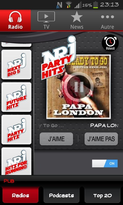 READY TO GO sur NRJ HITS