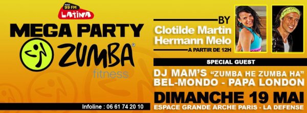 Mega Party Zumba