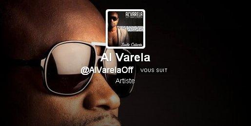 Nouveau compte twitter Al Varela
