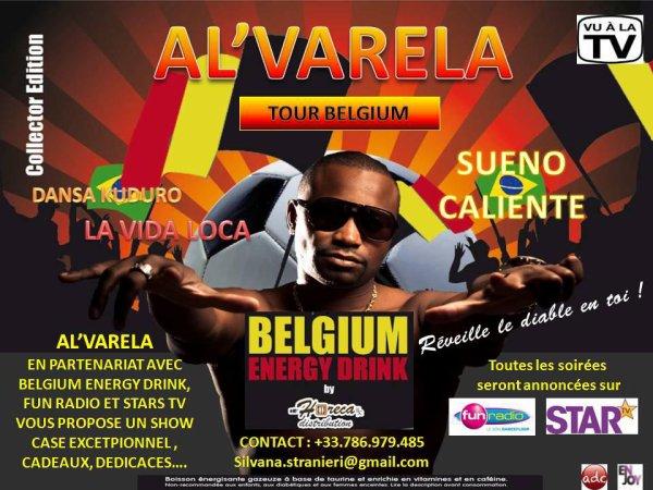 TOUR BELGIUM AL VARELA