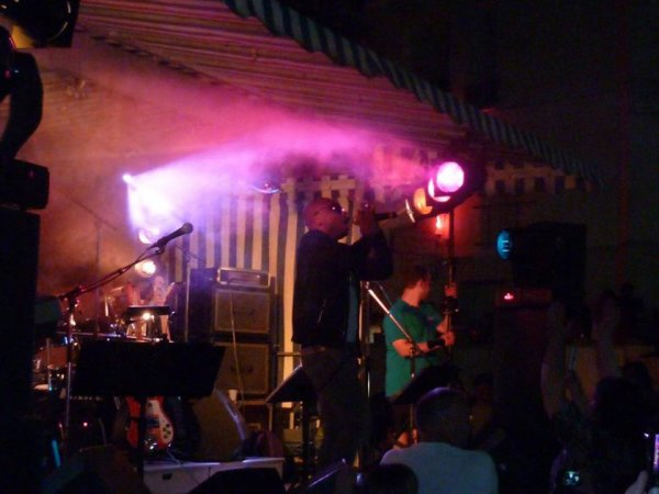 AL Varela en concert a Vittel