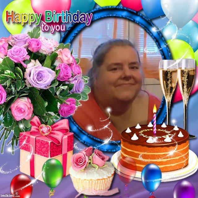 joyeux anniversaire anita et beaucoup de bonheur pour toi bisous