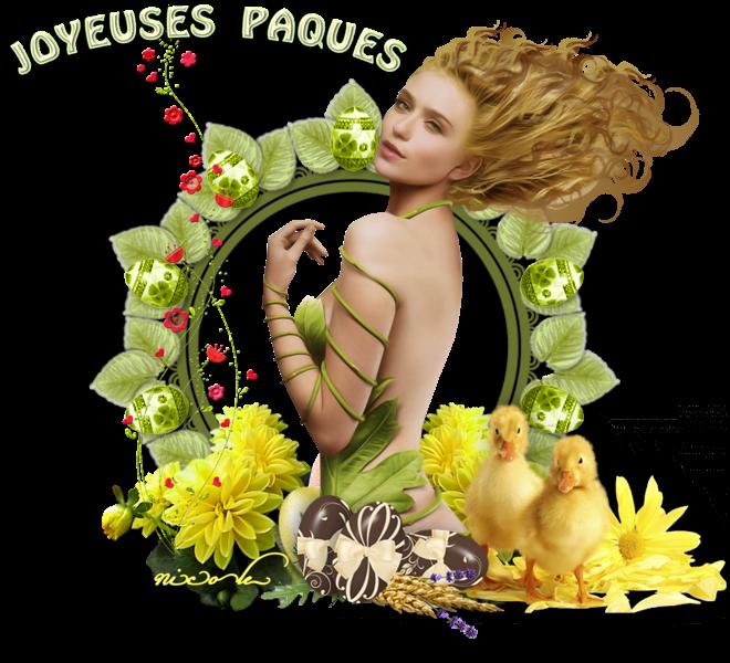 joyeuses fète de paques francis , bisous