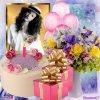 joyeux anniversaire et bonne fète de paques a mon amie fleurine , bisous