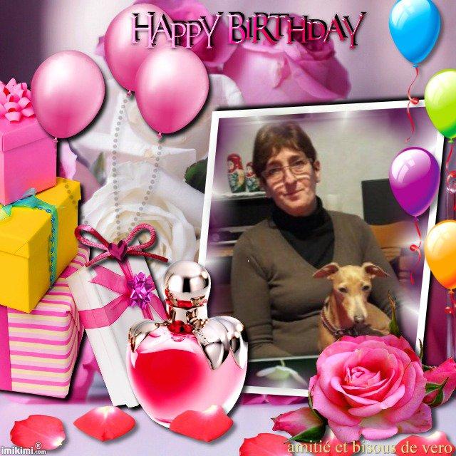 joyeux anniversaire patricia et beaucoup de bonheur ,gros bisous