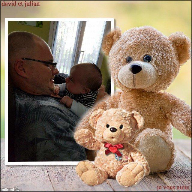 mon fils david avec julian  , je vous aime tres fort !!!!! bonne soirée a tous...........