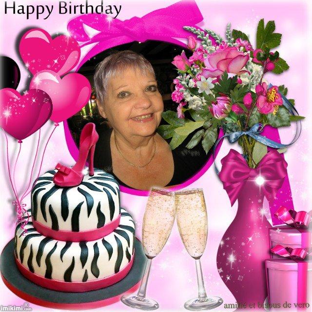 joyeux anniversaire josy et beaucoup de bonheur pour toi , bisous