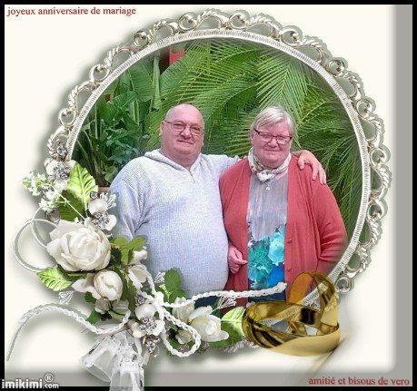 joyeux anniversaire de mariage  a mon ami tarzan , bisous