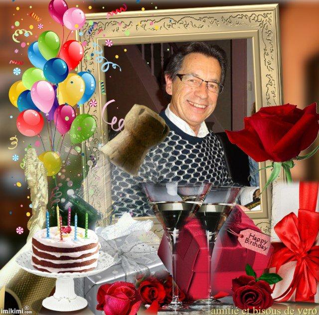 joyeux anniversaire joel et beaucoup de bonheur , bisous
