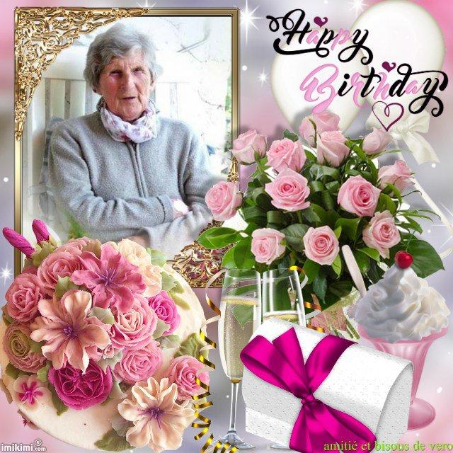 joyeux anniversaire a ta maman pierre paul , bisous
