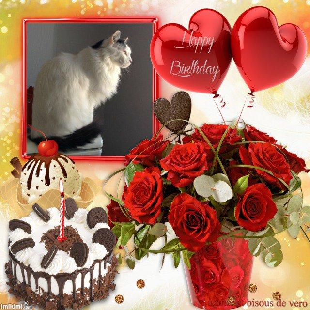 joyeux anniversaire a mon amie itounany , et beaucoup de bonheur , bisous