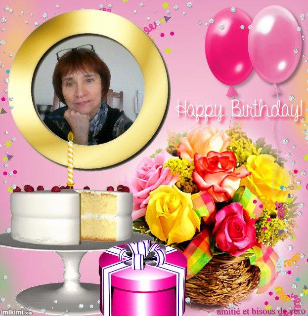 joyeux anniversaire maryse et beaucoup de bonheur pour toi , bisous