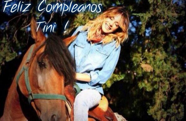 Feliz cumpleaños Tini !!!!