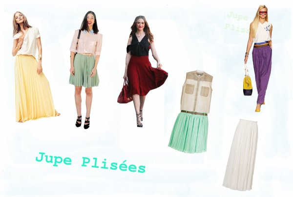 La jupe plissée