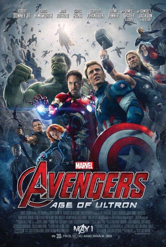 L'affiche d'avengers 2