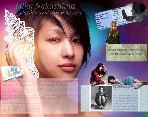 -  Mika Nakashima -