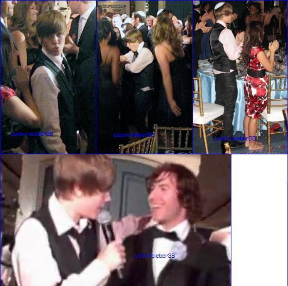 . Justin Bieber au Mariage de Dan Kanter (Guitariste et directeur artistique de Biebs) le week-end dernier à Toronto .