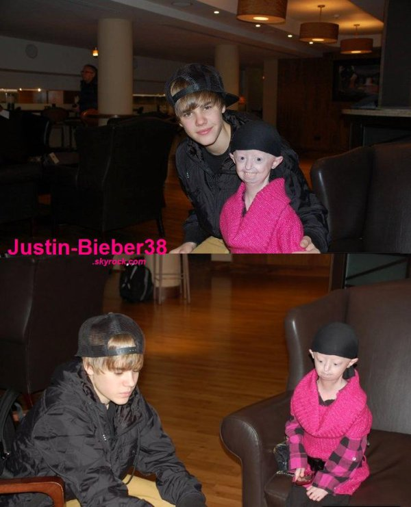 . Justin Bieber & Hayley .