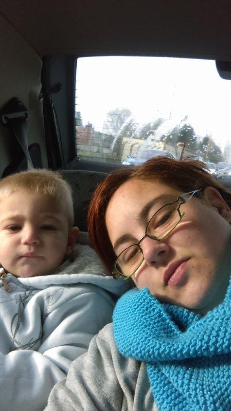 maman et sont fils