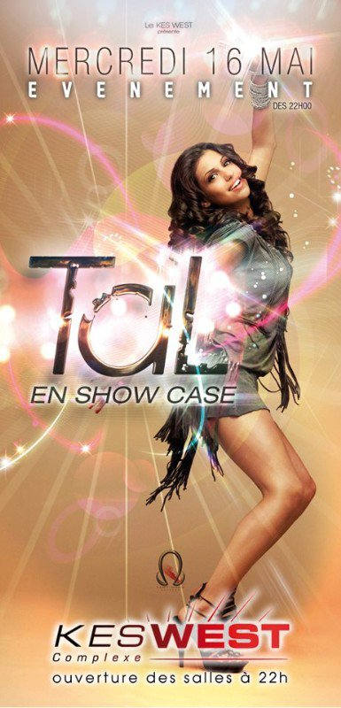 Tal en showcase le 16 mai