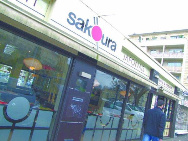 Sakoura, Restaurant japonais