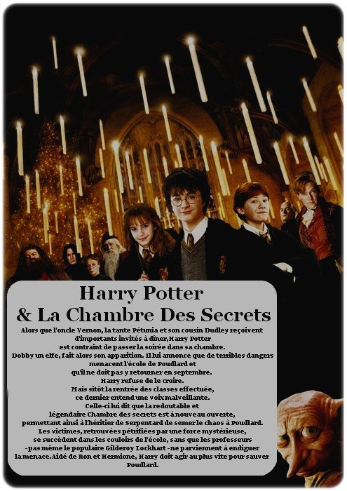 Harry Potter & La Chambre Des Secrets