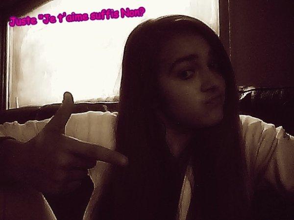 -Soukaina Wesh :) Juste Des Avis?:)