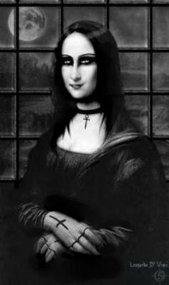 Classique Gothique , Mona is Black ♥