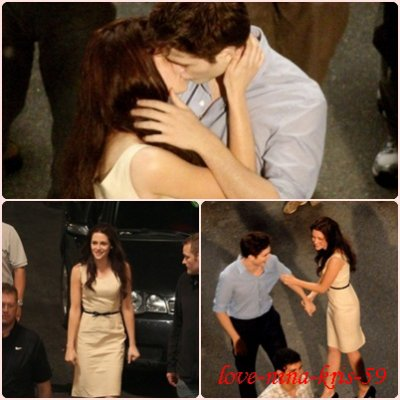 Tournage de Breaking Dawn !!