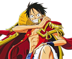 Luffy en roi des pirates
