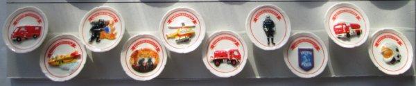 Les assiettes Sapeurs Pompiers (2012)